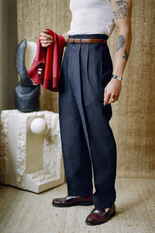 Scott Fraser Maßkonfektion High Waist Pants Modepilot