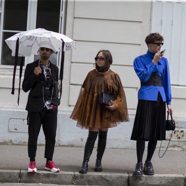 It's fashion week, baby!