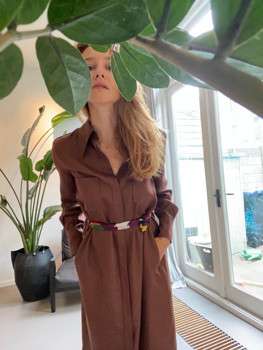 The Wearness Kleid Braun Modepilot